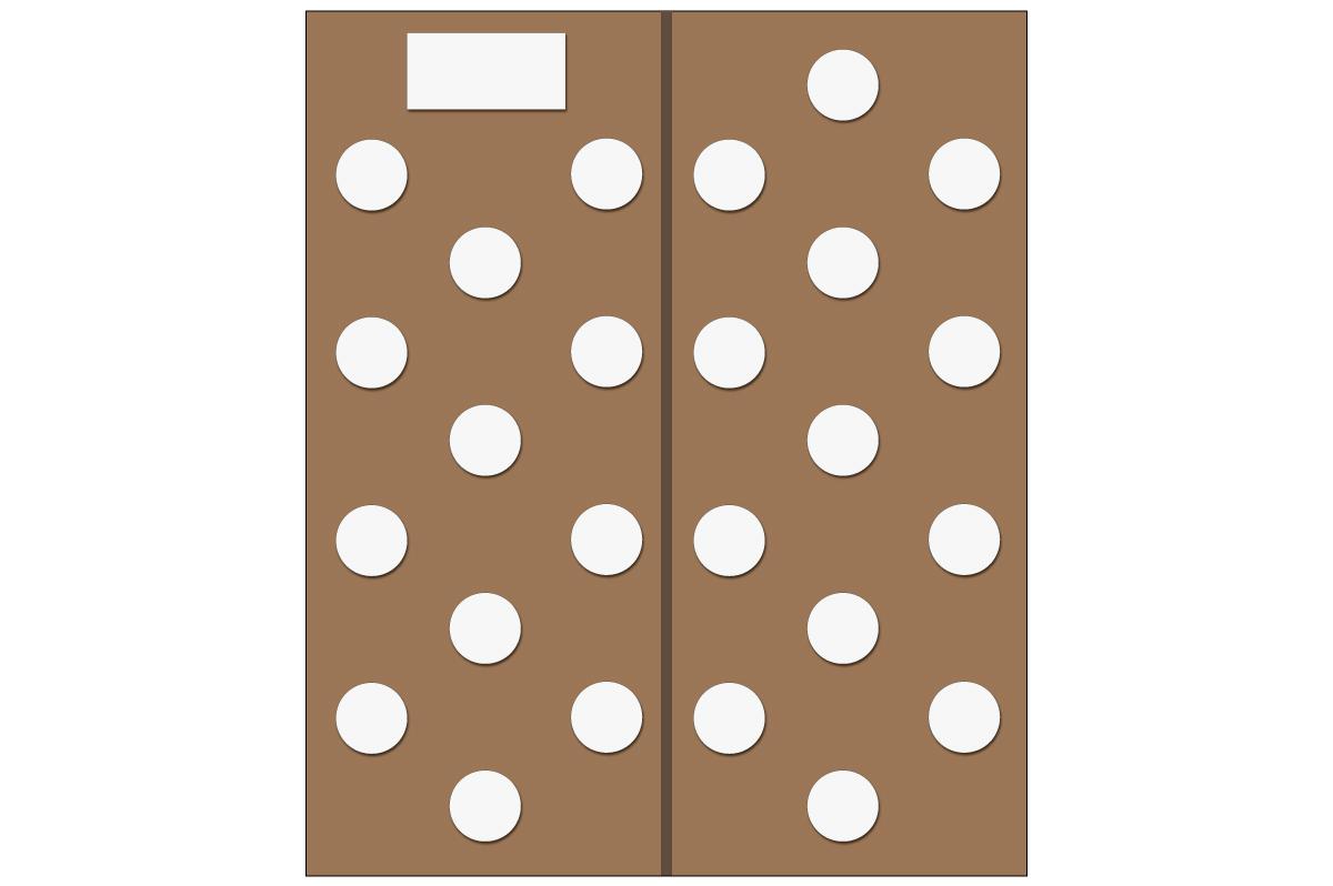 テーブルレイアウト例(円卓12卓・13卓)