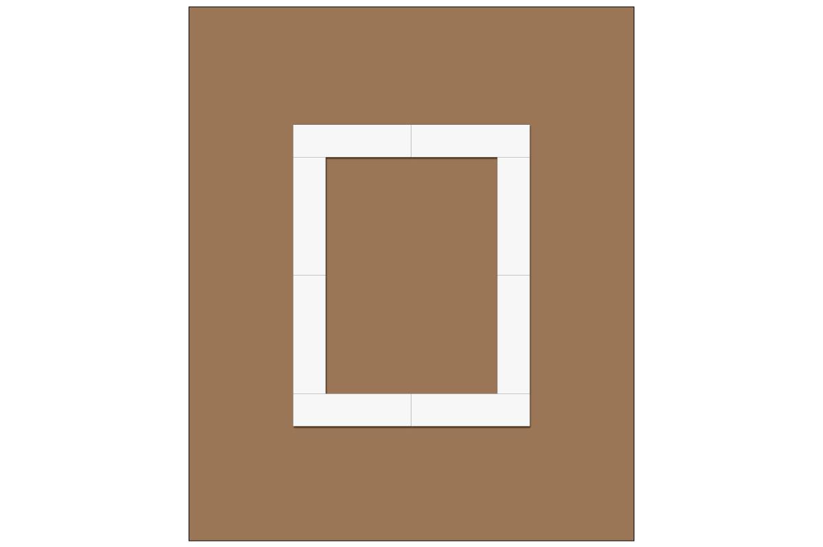 テーブルレイアウト例(口の字)