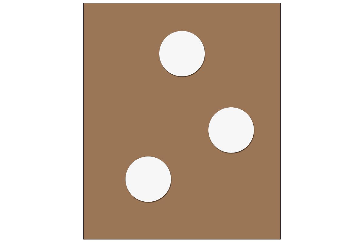 テーブルレイアウト例(円卓)